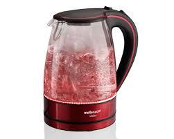 red vision glass kettle mellerware 22400rdc mellerware