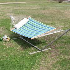 large sea grass topanga stripe quilted hammock dfohome