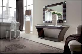 modern console tables with drawers black console table and mirror set furniture vintage armchair