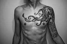 badass chest tattoos for