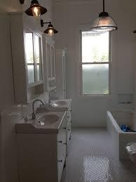 bathroom light fixtures ikea ikea hemnes subwaytile white subway tiles 72 inch double sink