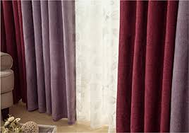 Solid Color Curtains Ffmode Solid Color Blackout Drapes Curtains Grommet Top 52 Inch