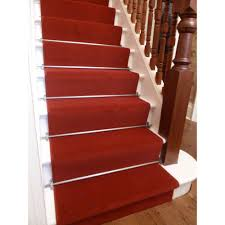 red carpet stair runners how to put on staircase runners