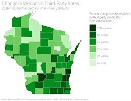 Wisconsin Counties Map by How And Where Trump Won Wisconsin In 2016 Wiscontext