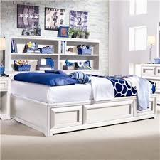 Twin Platform Bed With Storage Lea Industries Elite Reflections Twin Panel Bed With Underbed