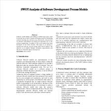 project management swot analysis 8 free word excel pdf