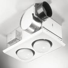 Retrofit Bathroom Fan Heater Fan Lights Bath And Ventilation Fans Nutone