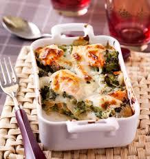 recette de cuisine saumon lasagnes au saumon et aux brocolis les meilleures recettes de