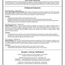 emergency nurse practitioner sample resume resume nursing resumes examples free templates graduate template