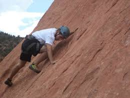 rock climbing in garden of the gods picture of first ascent