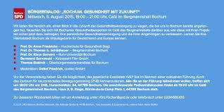 Bergmannsheil Bochum Haus 3 Einladung Zum Bürgerdialog Bochum Gesundheit Mit Zukunft