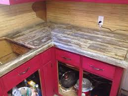 Barn Red Kitchen Cabinets by Countertop Reclaimed Barn Wood Countertops Reclaimed Wood Table