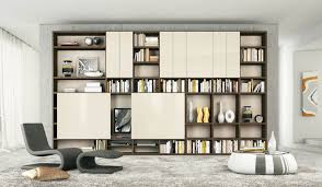Interior Shelving Units Cream And Brown Shelves With Sliding Doors Tv Stand Cream And
