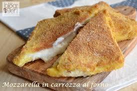 mozzarella in carrozza messinese mozzarella in carrozza al forno