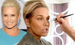 natural color of yolanda fosters hair real housewives yolanda foster reveals she hasn t worn makeup in