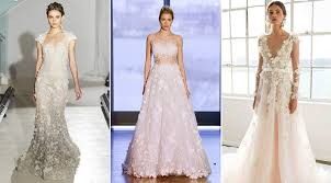 wedding dress nyc 8 hot trends that emerged from nyc bridal week asia wedding network