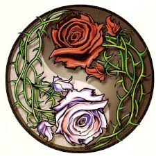Ying Yang Tattoo Ideas Rose Yin Yang Tattoo Designs Yin Yang Roses Temporary Tattoo By