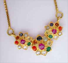 coloured stone necklace images Navagraha stone navagraha stones coloured gemstones necklace jpg