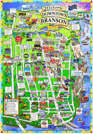 La Zoo Map Downtown Branson Home