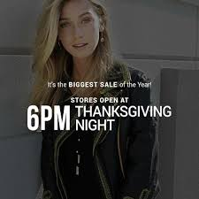 news article tanger outlet stores open at 6 00 pm on thanksgiving