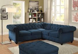 plush sectional sofas stanford ii sectional sofa cm6270tl in dark teal w options