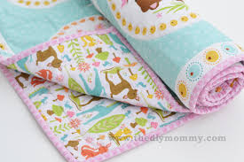 sew an easy beginner u0027s baby quilt the diy mommy