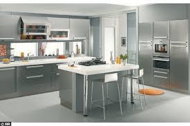 deco cuisine gris et blanc cuisine gris et blanc deco cuisine design modern