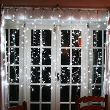 elegant christmas curtain home decorating ideas