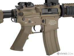 classic army m4 cqb ris metal airsoft aeg rifle color dark earth