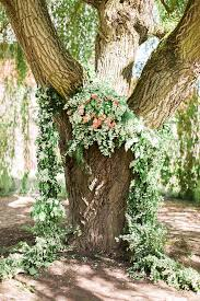 wedding backdrop greenery back to nature earthy and organic wedding ideas
