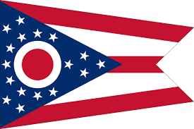 State Flags Of Usa Ohio State Flag Flagnations