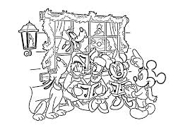 disney christmas colouring christmas minnie mouse coloring pages