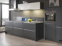 grey kitchen design ideas give mysterious impression