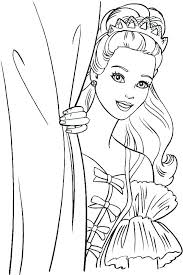 39 flower coloring images barbie coloring
