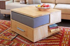 space saving end table do it yourself two drawer coffee table new zealand handyman magazine