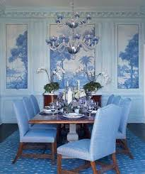 decorating with blue real simple