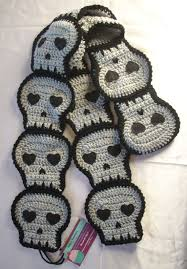 skull scarf pirate scarf team skull cosplay black skull
