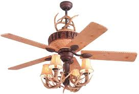 Lodge Ceiling Fans With Lights Monte Carlo Great Lodge Ceiling Fan Model 5gl52wi Mc116wi In
