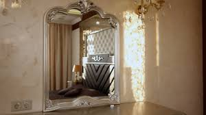 bedroom with a large bed and a dressing table view showcase of
