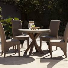 round table near me 9 piece patio dining set cast aluminum home depot outdoor dining