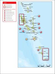 Vanuatu Map Vissp