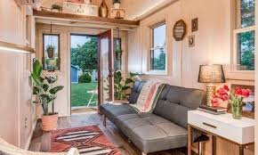 modern interior design for small homes small house on wheels offering all amenities and comfortable living