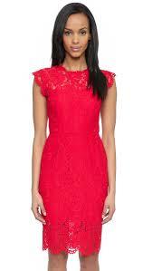 rachel zoe suzette fitted dress shopbop