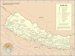 Nepal Map World by Ole Nepal U0027s E Pustakalaya
