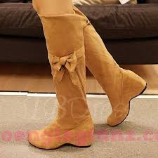 womens knee high boots nz nz 168 womens boots toe bowtie slip on knee high boots