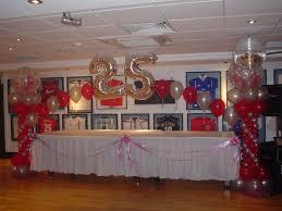 wedding anniversary ideas astonishing 25th wedding anniversary balloons decorations 99 in