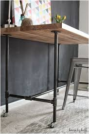wood and pipe table pipe desk legs inspirational home decorating plus satisfying diy how