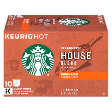 starbucks k cup house blend coffee 4 2 oz 10 ct meijer