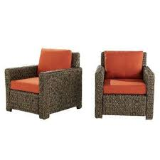 water resistant outdoor lounge chairs patio chairs the home depot
