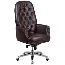 High Back Leather Armchair Office Chairs Joss U0026 Main